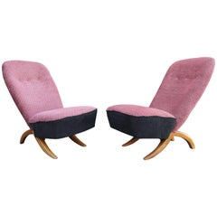 Pair of Congo Chairs by Theo Ruth for Artifort