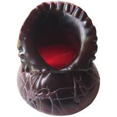 Jugendstil Pallme Koenig Scissor Cut Vase