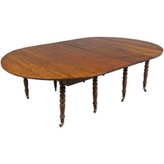 19th c. Louis Philippe Dining Table with extensions