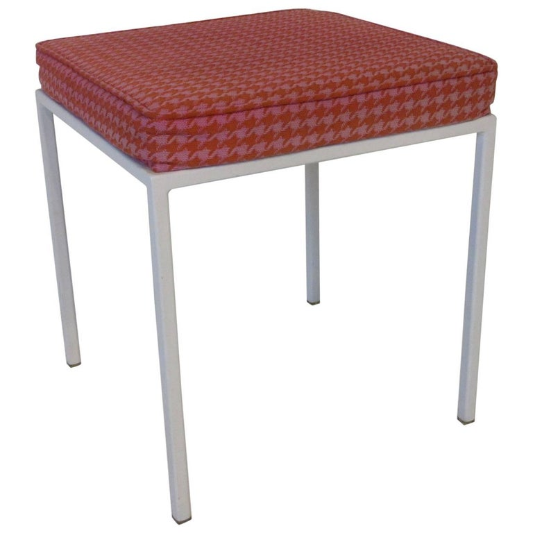 Terrific Vista Vanity Stool By Jackson Gregory With Girard Fabric Alphanode Cool Chair Designs And Ideas Alphanodeonline