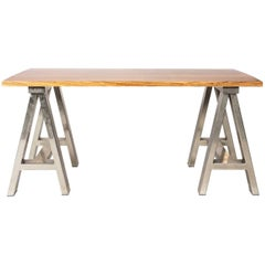 Custom Zebrawood Table