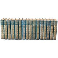 Works of Thackeray Book Set, circa 1911