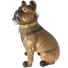 Rare Carlino Pug Dog by Fornasetti