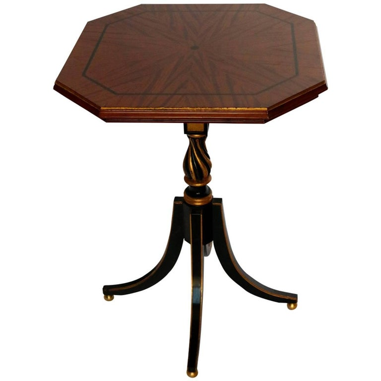 Italian Side Table Property from the Collection of Tommy Hilfiger