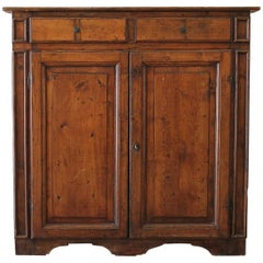 Antique English Walnut Cupboard