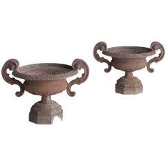 Cast Iron Urns, circa 1880