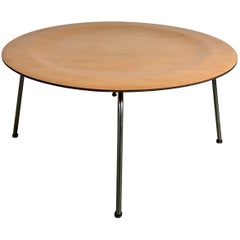 Classic Mid-Century Modern Birch Plywood Coffee Table, Charles Eames