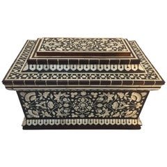 Vizagapatam Anglo-Indian Chest Tea Caddy