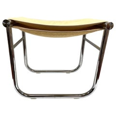Cassina Le Corbusier Chrome Bathroom Stool