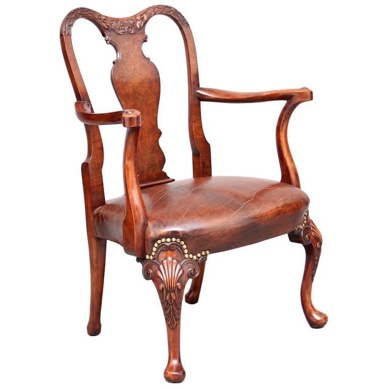 Early 20th Century Queen Anne Style Child's Chair