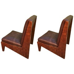 Pair of Armchairs in Jean Prouvè Style, 1940