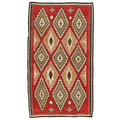 Antique Navajo Carpet