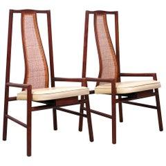 Rare John Kapel for Glenn Pair of Chairs