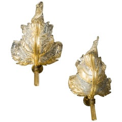Glamorous Barovier & Toso Sconces Wall Lights