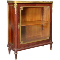 Louis XVI Style Tulipwood and Ormolu-Mounted Petit Cabinet