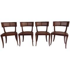 T.H. Robsjohn-Gibbings Set of Four Side Chairs