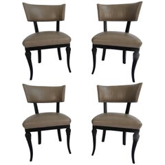 Maison Jansen Set of Four Side Chairs