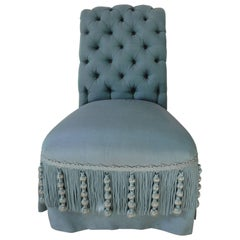 19th Century Napoleon III Tufted Back Chair