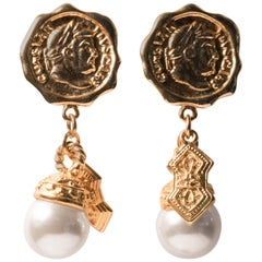 Coco Chanel Style Dangling Gems, Fit for a Goddess