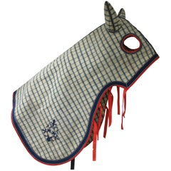 Thoroughbred Horse Masked Blanket
