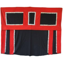 NWC Ceremonial Wool Button Blanket