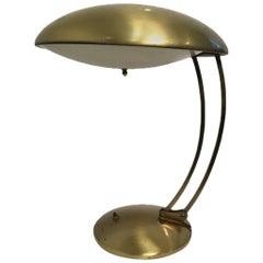 Adjustable Brass Table Lamp by Christian Dell for Kaiser Idell Bauhaus