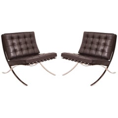 Mies Van Der Rohe Knoll Barcelona Chairs