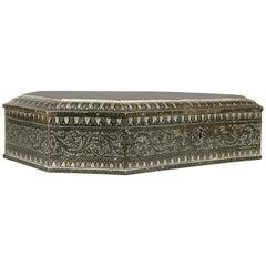 Indian Steel Koftgari Box