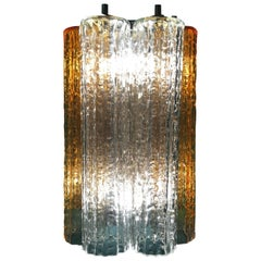 Venini Murano Tronchi Wall Light by Toni Zuccheri