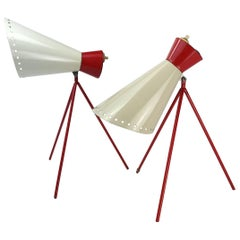Set of Table Lamps by Josef Hurka for Napako, 1958