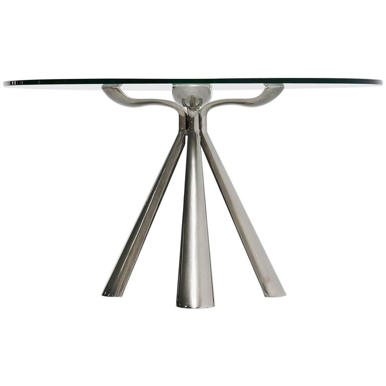 Vittorio Introini Center Dining Table Saporiti Italia, 1972