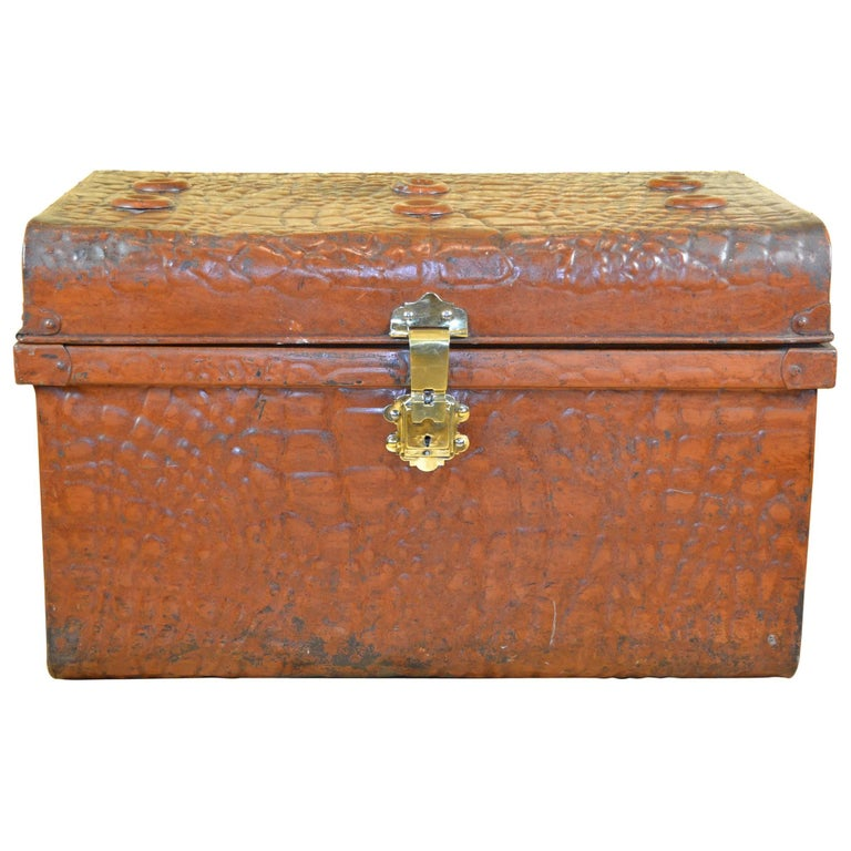Storage Trunks Steamer Metal Leather Images