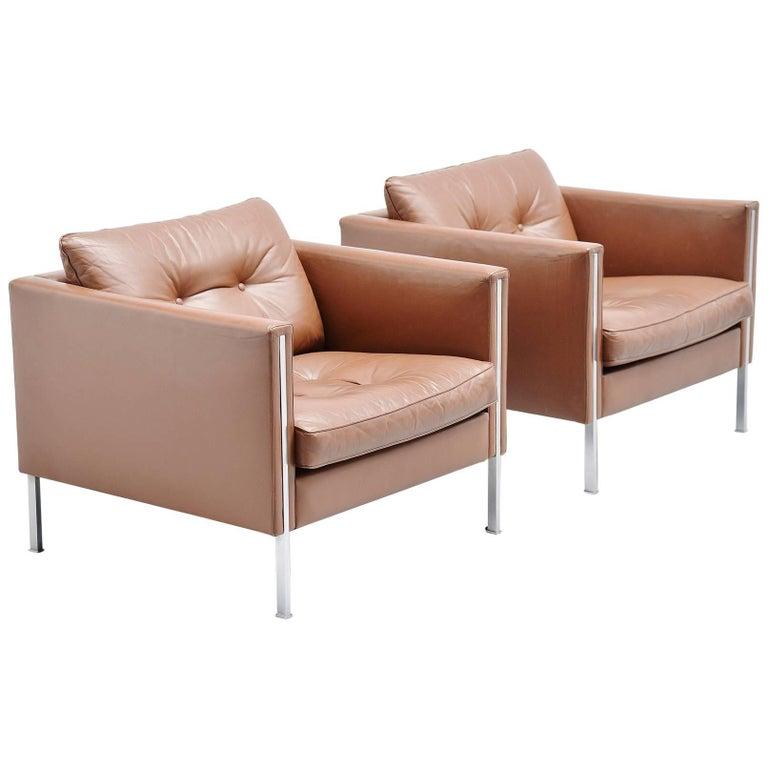 Pierre Paulin 442 Lounge Chairs Artifort, 1962