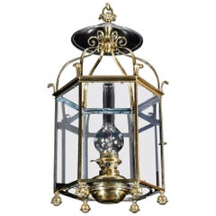 Regency Period Hexagonal Hall Lantern