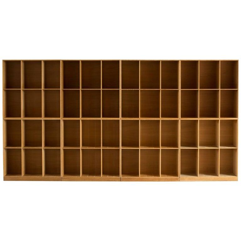 Mogens Koch Bookcases in Oak for Rud Rasmussen