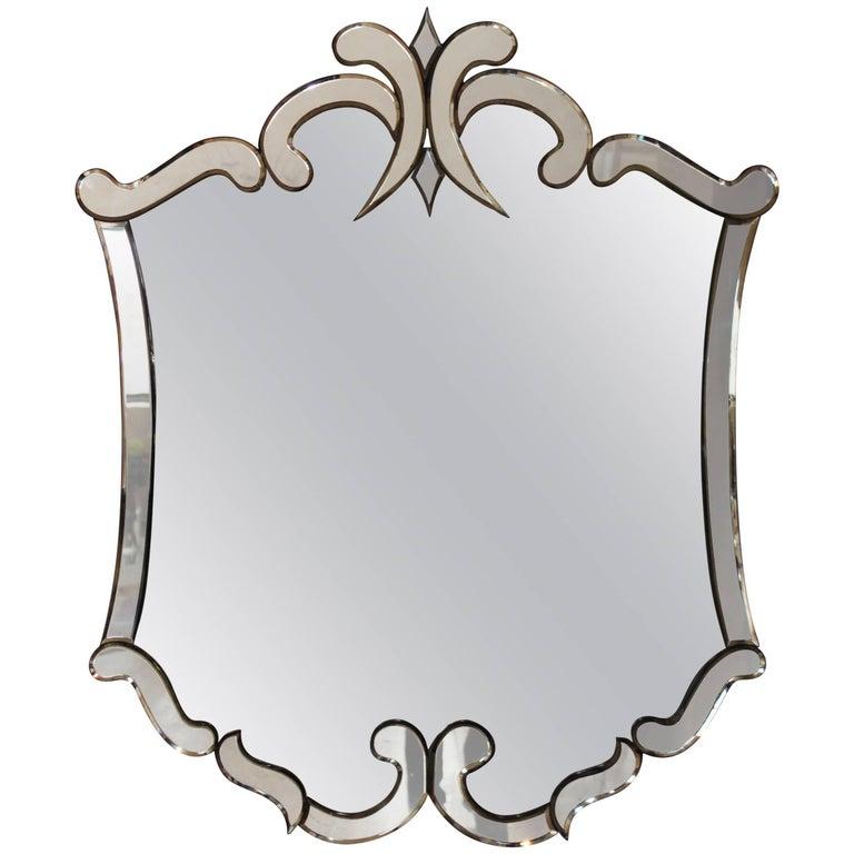 1940s Venetian Style Mirror
