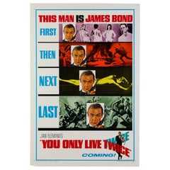 """You Only Live Twice"" US Film Poster, 1967"