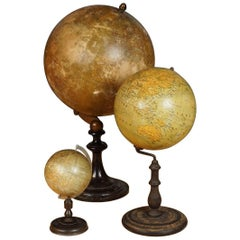 Collection of Three Globes, circa 1930