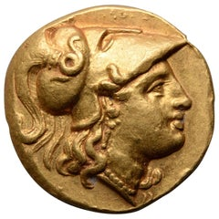 Ancient Greek Gold Stater of King Alexander the Great, 323 BC