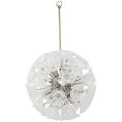 Italian Floral Sputnik Chandelier