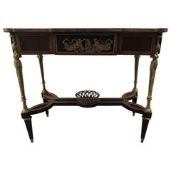 Vintage Reproduction of Louis XVI Style Center Table