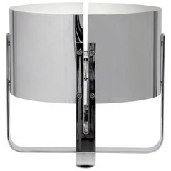 Jacques Quinet Chrome Lamp