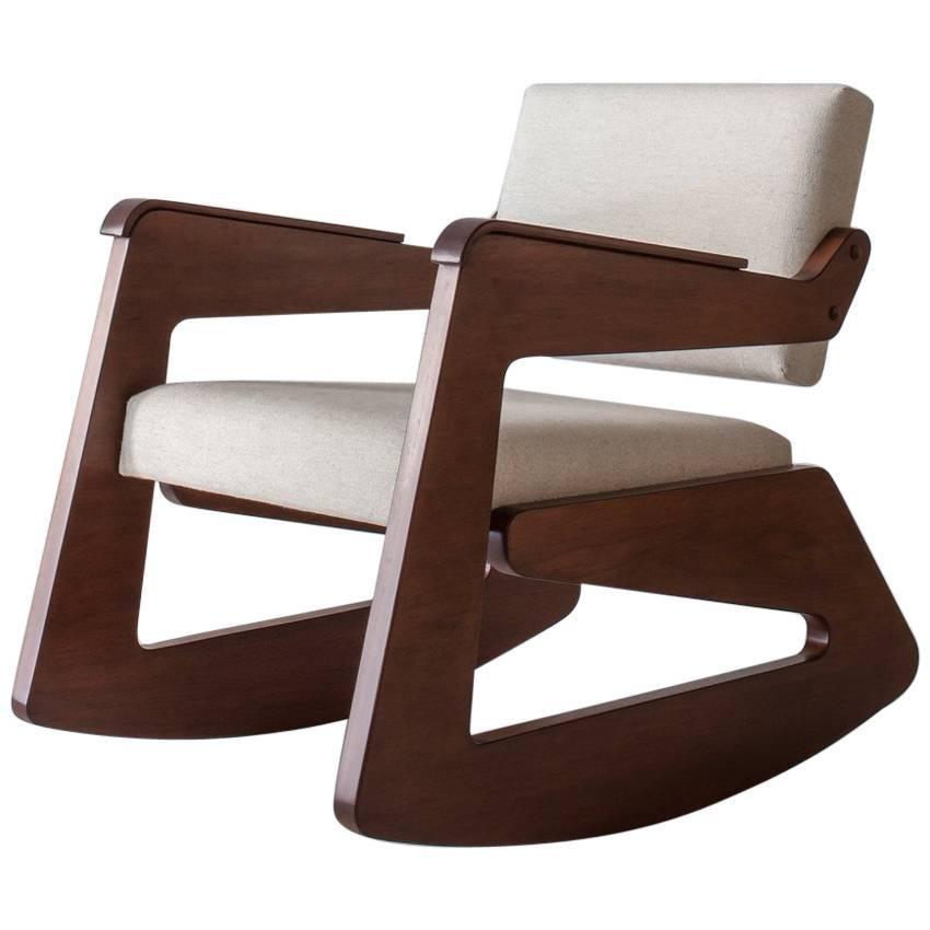 Balanço Rocking Chair By Lina Bo Bardi
