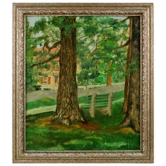 """""""Through the Trees"""" Painting"""