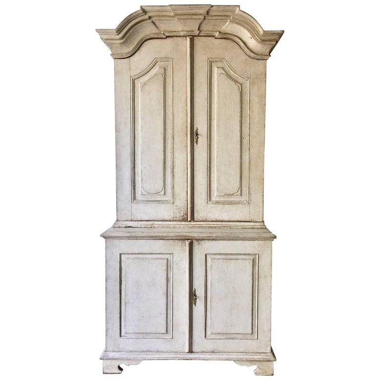 18th Century Period Swedish Rococo Cabinet