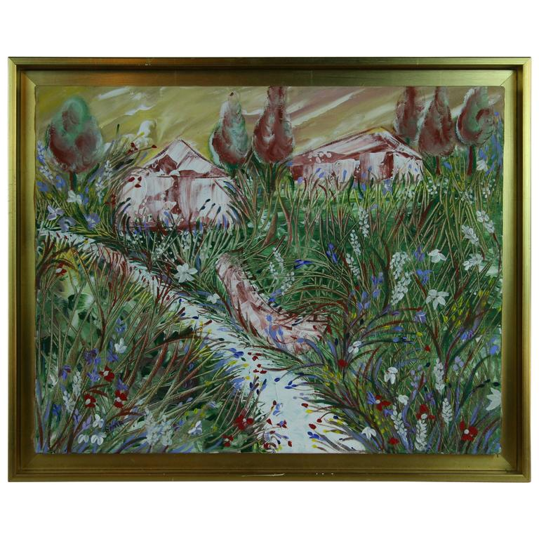 Through the Vines Painting 1