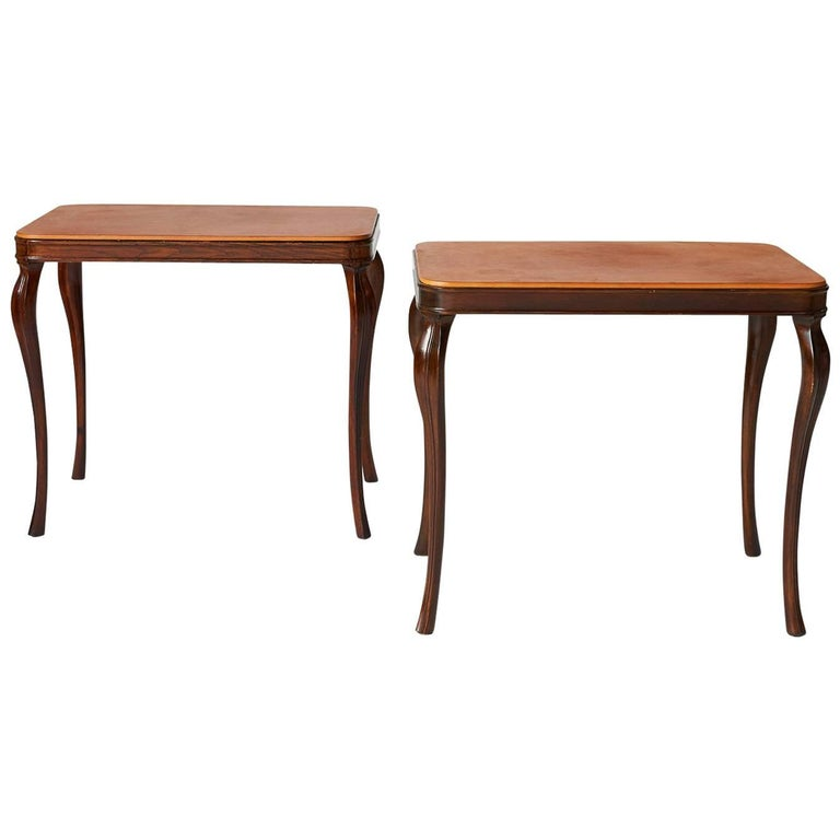 Side Tables by Frits Henningsen