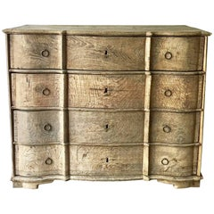 18th Century Danish Rococo Chest of Drawers