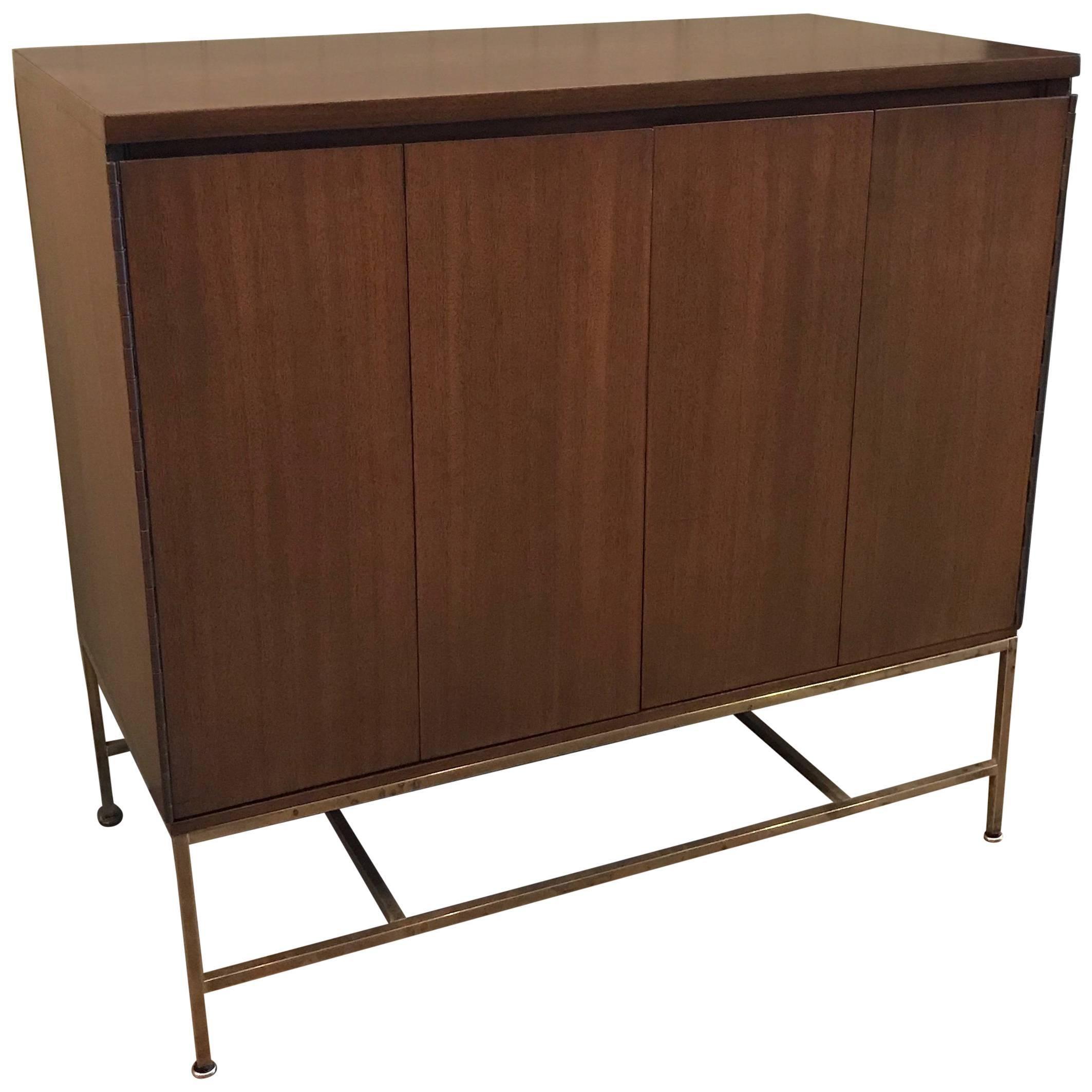 Paul McCobb Mahogany Bi-Fold Doors Dresser for Calvin Irwin Collection