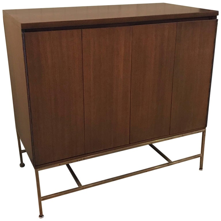 Paul McCobb Mahogany Bi-Fold Doors Dresser for Calvin Irwin Collection